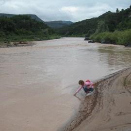 Photo of the Rio Grande River for Sierra Club Rio Grande Chapter website