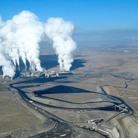 Photo of PNM's San Juan Coal Fired Generator Plant for the Sierra Club Rio Grande Chapter website