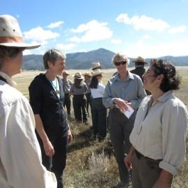 photo of Valles Caldera Preserve ceremony