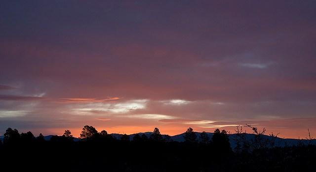 Photo of Los Alamos skies
