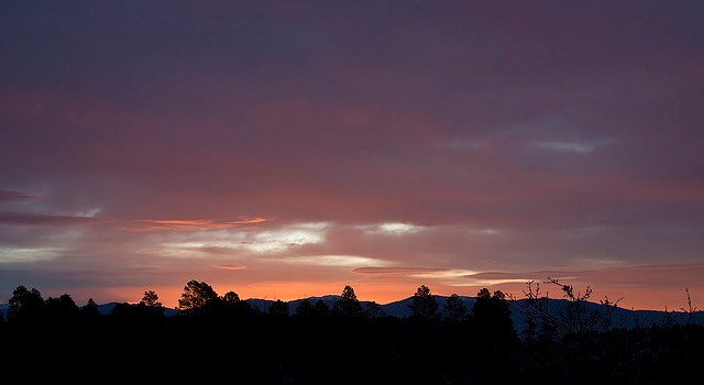 Photo of Los Alamos skies