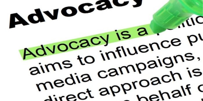 Advocacy training events – December 2017
