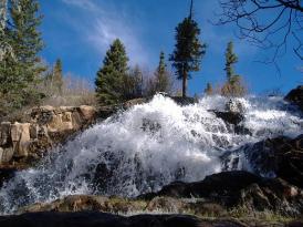 Upper Pecos Falls.