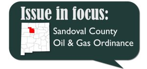 Sandoval County Oil & Gas Ordinance