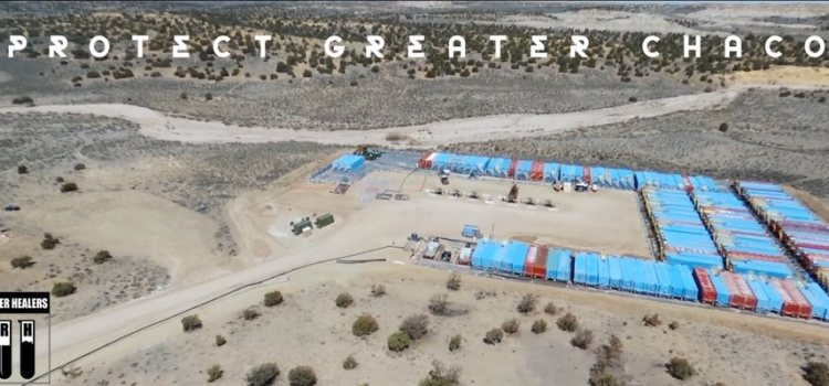 Drones record Chaco fracking sites