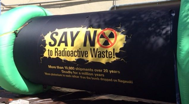 Advisory: Residents kick off tour alerting New Mexicans of dangers of radioactive-waste dump