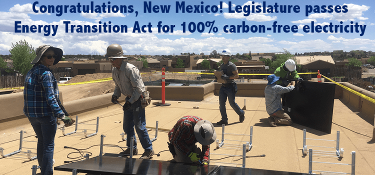 Our chance at 100% carbon-free energy in New Mexico