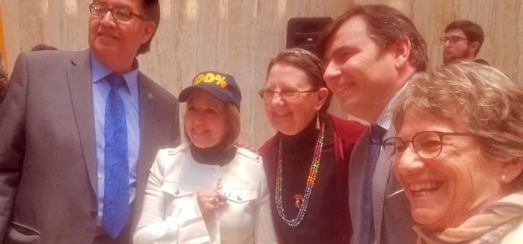 Carbon-free is New Mexico law! Gov. Lujan Grisham signs historic legislation