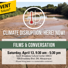 Climate disruption – film & conversation