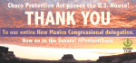 Key protection for Greater Chaco passes U.S. House