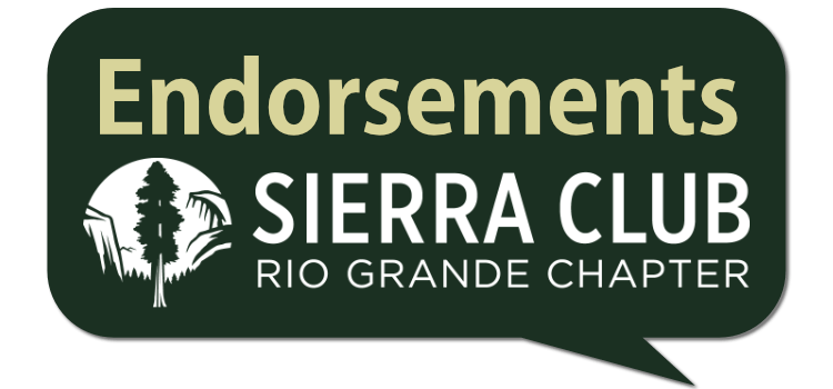 Early 2020 Endorsements for Environmental Champions