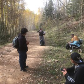 September hike with Big Brothers/Big Sisters