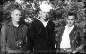 Erwin Hayer, with brothers Arnold and Travis