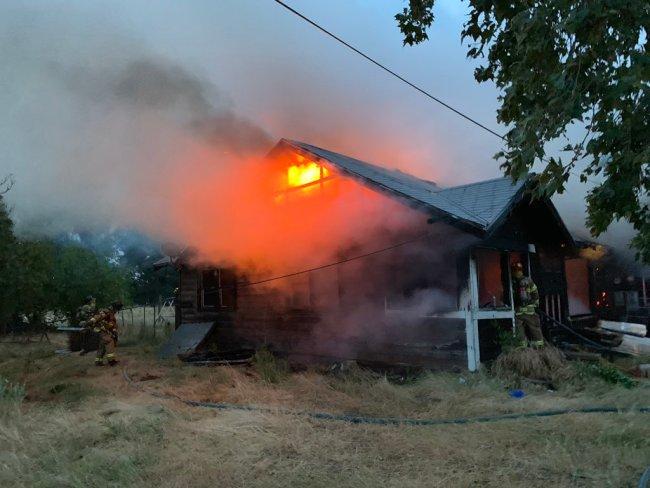 Rio Linda house fire