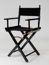 Black Directors Chair Hire