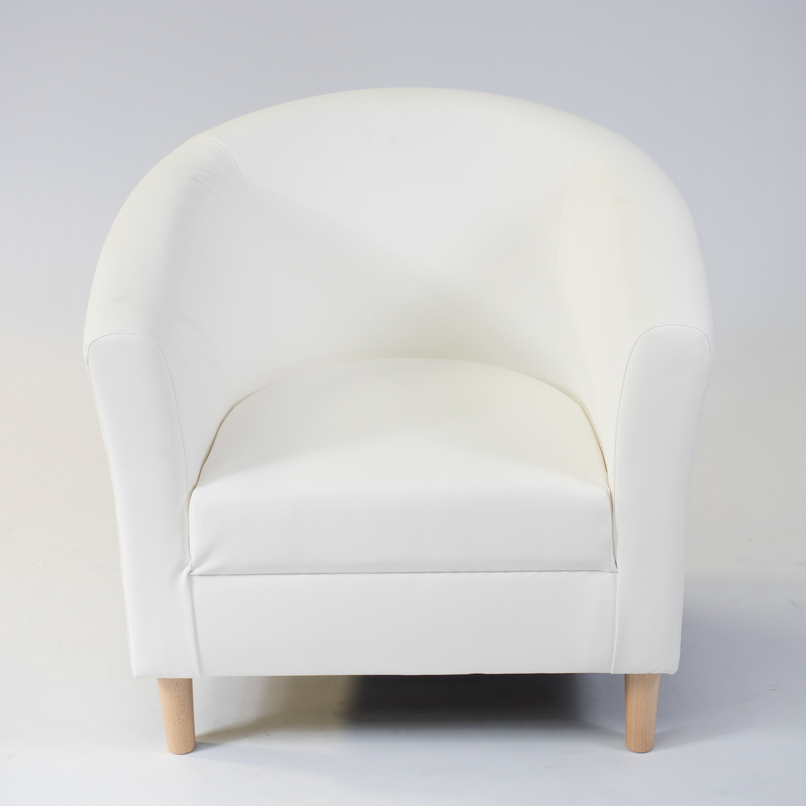 white faux leather chair hanging hardware kit casa armchair hire rio lounge