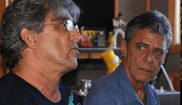 Ivan Lins con Chico Buarque Rioma