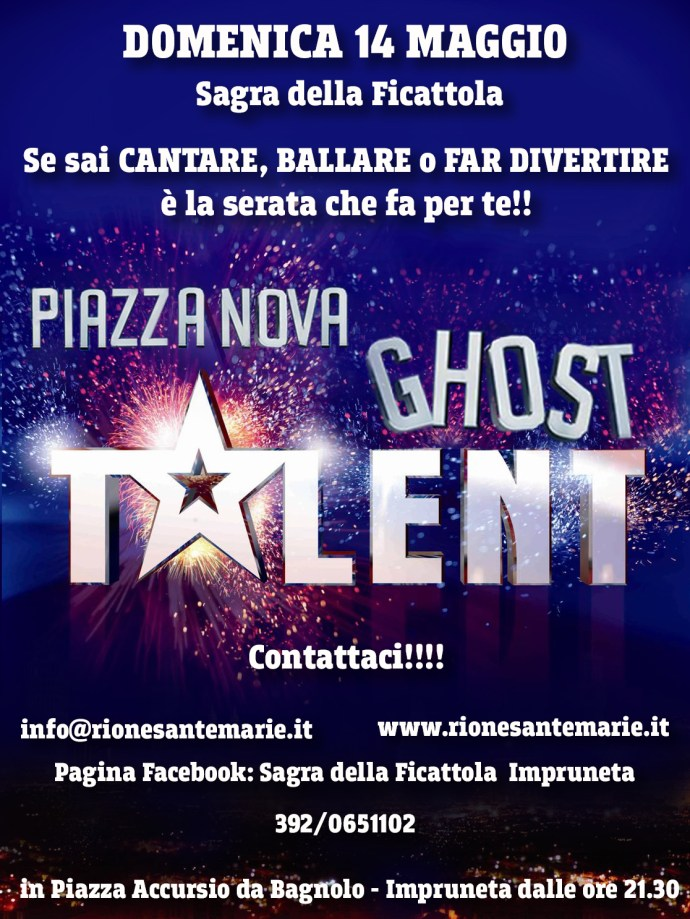 piazza nova ghost talent 2017