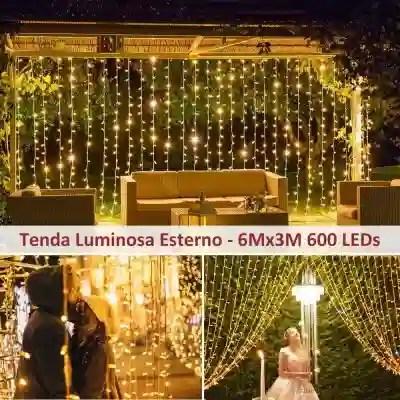 Sono versatili e possono illuminare sia l'esterno che l'interno di una casa,. يتلمس طريقه حاسوب محمول مزج Tende Luminose Led Amazon Bossforum Org