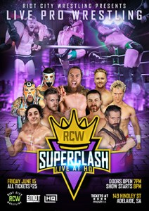 Superclash 2018 Poster