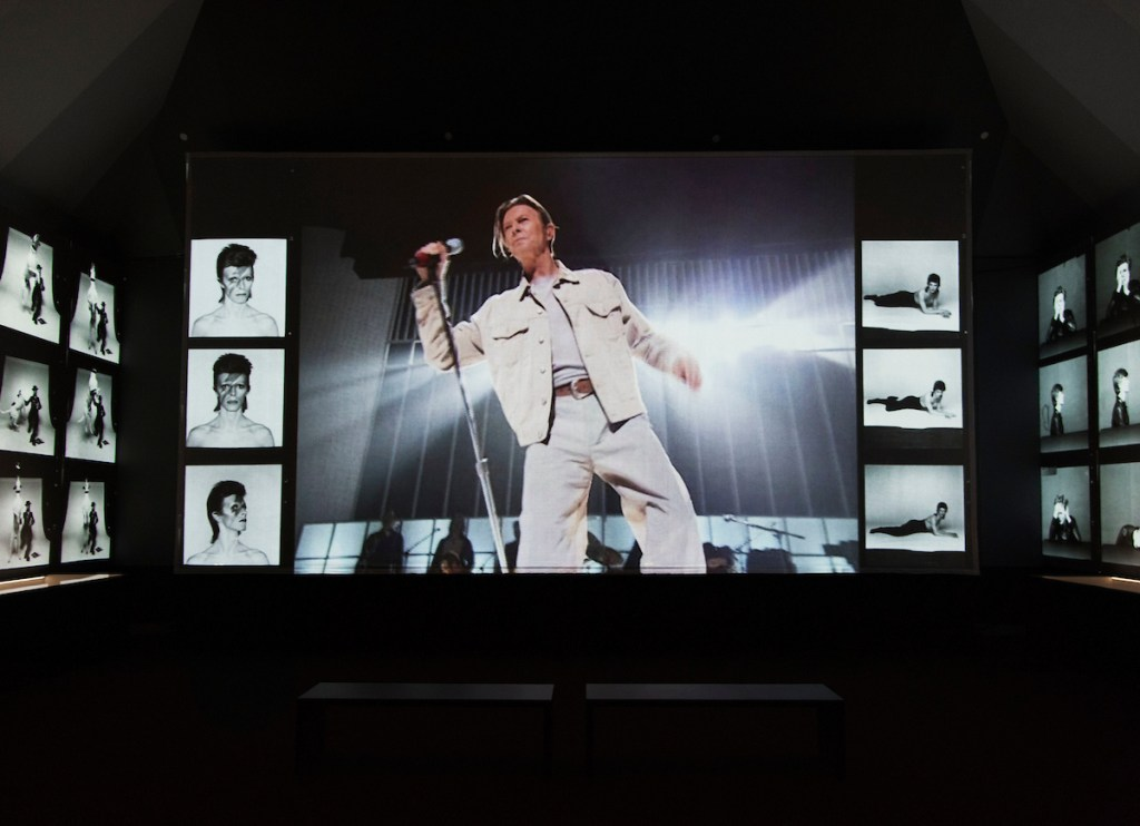 David Bowie is, Installation View