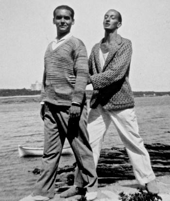 Federico García Lorca and Salvador Dalí, Cadaqués, Spain.