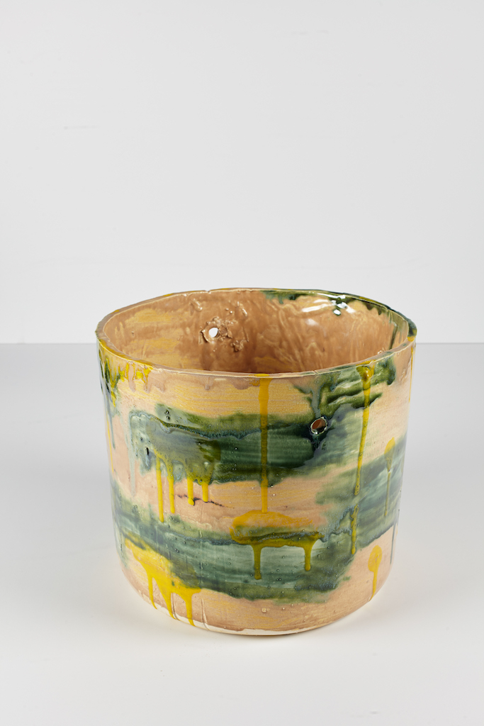 Rashid Johnson, Untitled Ugly Pot, 2018