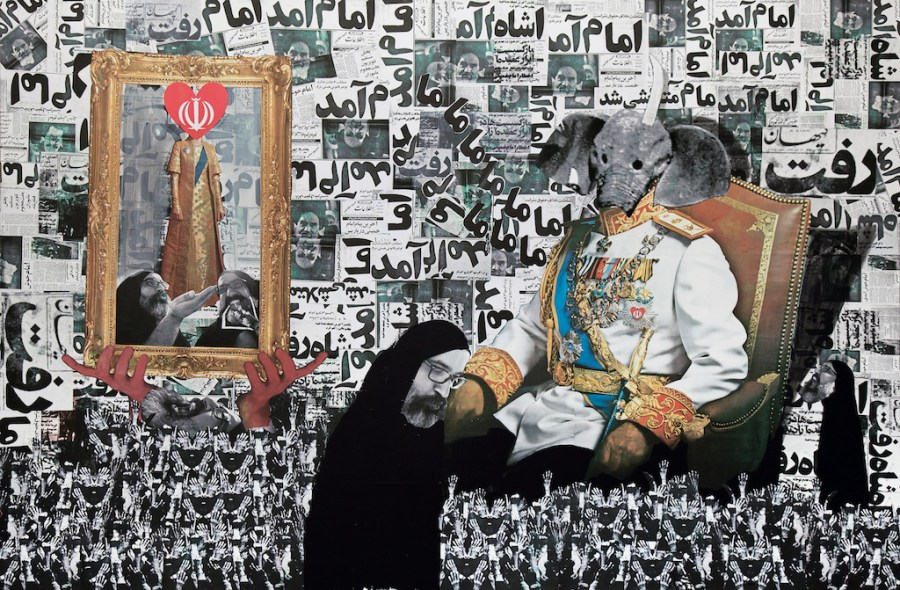 In The Field of Empty Days: The Intersection of Past and Present in Iranian Art