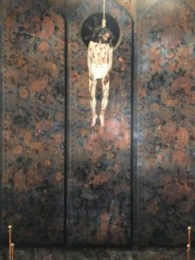 Siamak Shan, part of his Execution triptych, from his Underground series