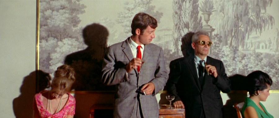 Sam Fuller in cameo appearance in Pierrot Le Fou