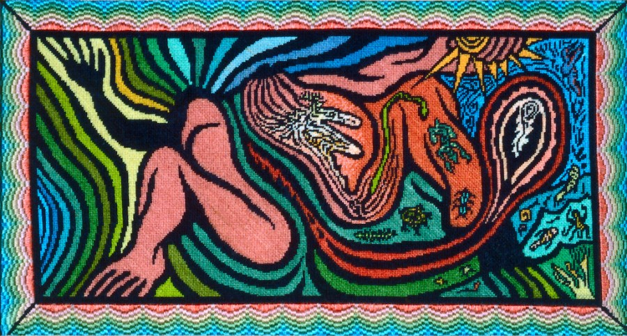 Judy Chicago, Creation of the World Petit Point