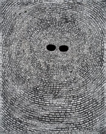 Jack Whitten Self Portrait: Entrainment 2008