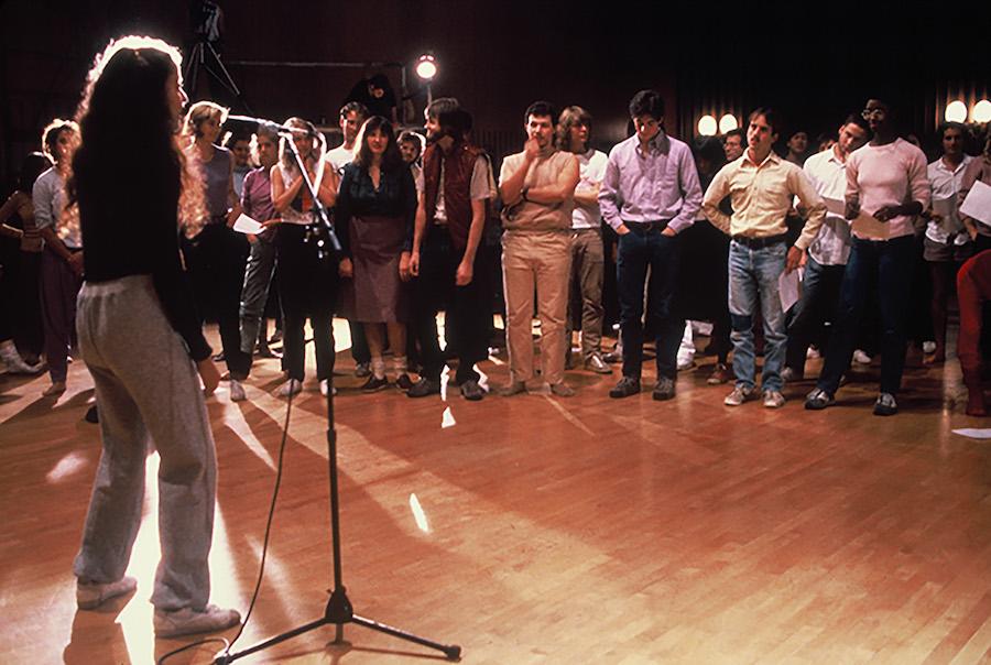 Adrian Piper, Funk Lessons, 1983–84.
