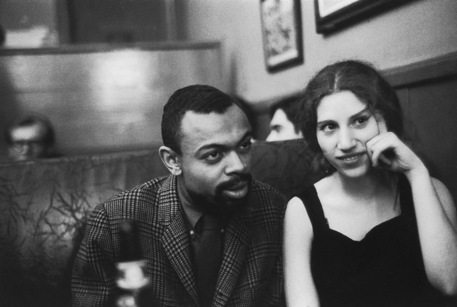Fred W. McDarrah: Leroi Jones, Diane di Prima in Cedar Tavern on University Place, April 5, 1960