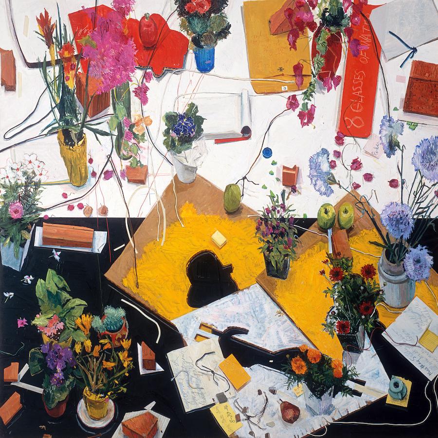 Manny Farber: Cezanne avait ecrit, 1986