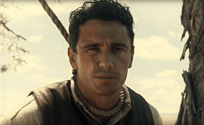James Franco in The Ballad of Buster Scruggs