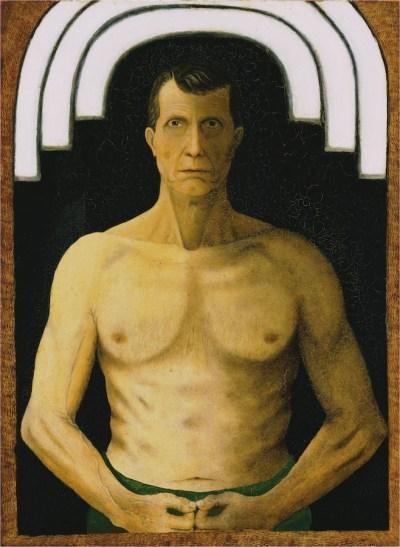 John Kane, Self-Portrait, 1929