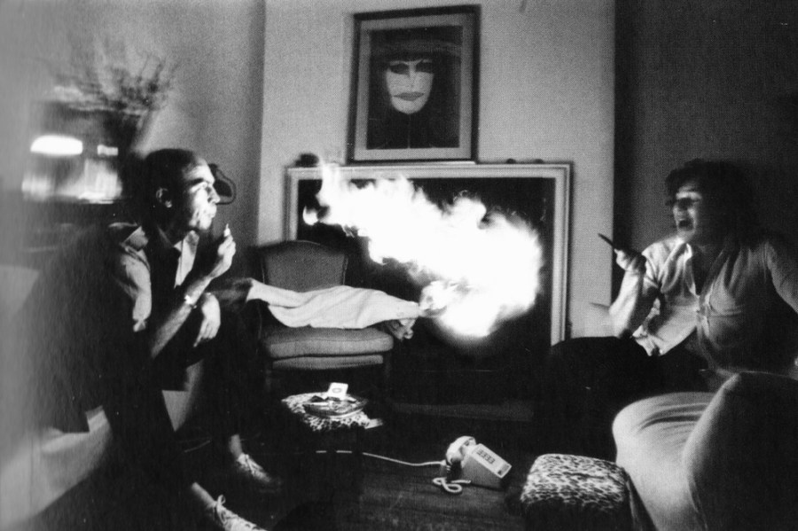 Hunter S. Thompson and Jann Wenner