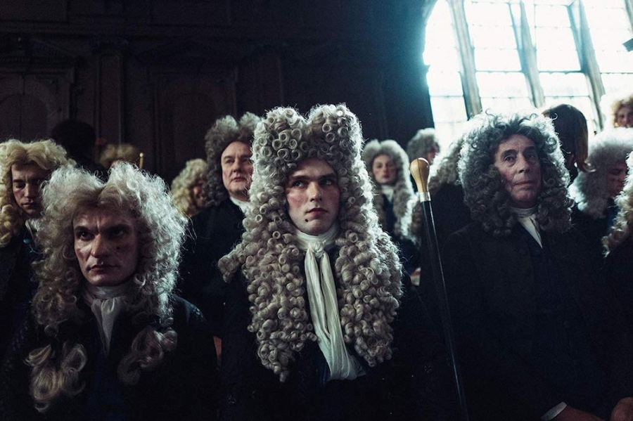 Nicholas Hoult in The Favourite (2018)