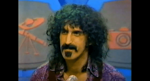 """Frank Zappa on """"What's My Line,"""" 1971"""