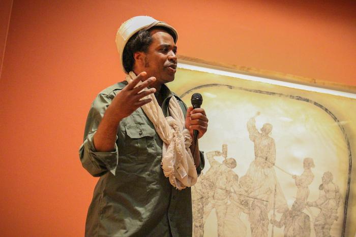 Umar Rashid, aka Frohawk Two Feathers