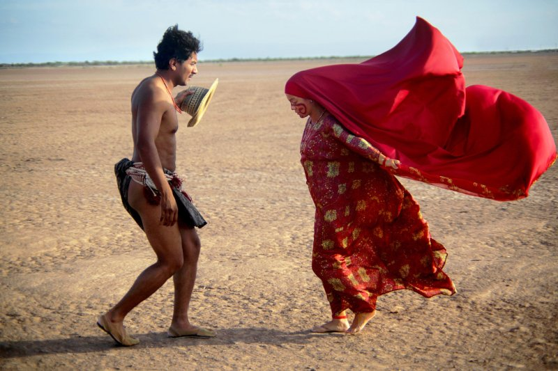 Jose Acosta and Natalia Reyes in Birds of Passage, directed by Cristina Gallego and Ciro Guerra and reviewed at Riot Material under Cinema Disordinaire