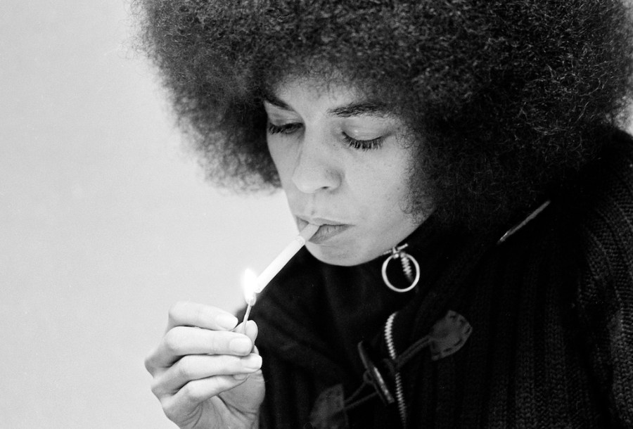 "Angela Davis answers the question, ""What does it mean to be a revolutionary,"" at Riot Material Magazine."