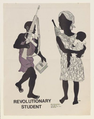 Emory Douglas, Revolutionary Student (1970)