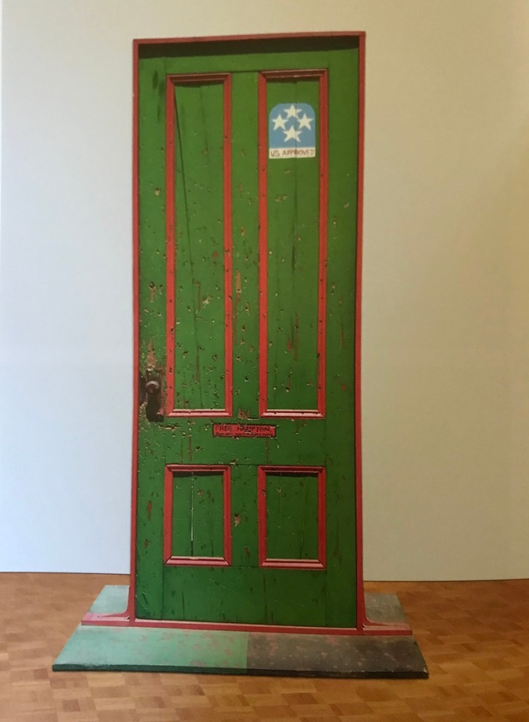 Dana C. Chandler, Fred Hampton's Door II (1974)