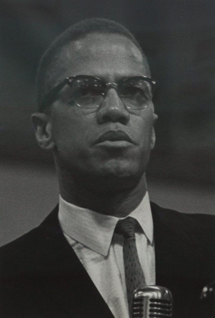 Roy DeCarava's Malcolm X, 1964