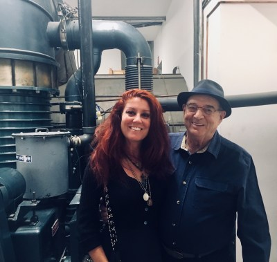 Erin Currier and Larry Bell. An interview with Larry Bell is at Riot Material, LA's premier art magazine