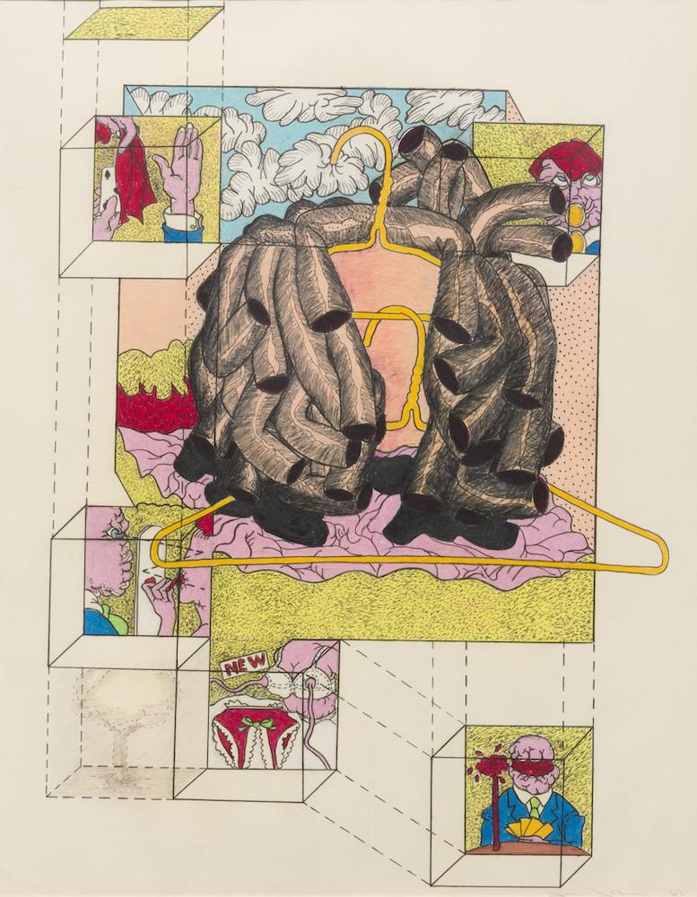 Terry Allen's Coat of Arms, at Riot Material, LA's premier art magazine.