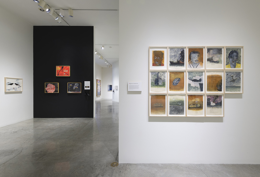 Terry Allen's The Exact Moment It Happened in The West, at LA Louver gallery, is reviewed at Riot Material, LA's premier art magazine.