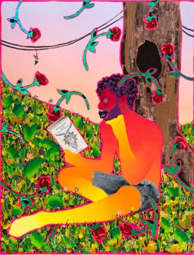 Artist Devan Shimoyama at